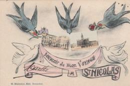 Souvenir De Mon Voyage à St Nicolas.  Scan - Sint-Niklaas
