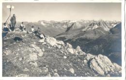 Arosa - Gipfelrast Auf Dem Weisshorn          Ca. 1920 - GR Grisons