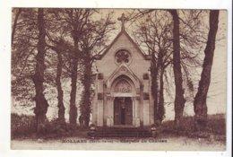 Cpa  Mollans  Chapelle Du Chateau - France