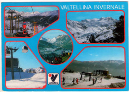 Valtellina Invernale (So). Multivisione. VG. - Sondrio