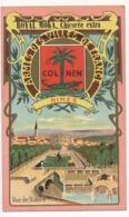 Chromo Pub ROYAL MOKA - Bourgeois & Labre, Cambrai Proville (Nord) Armes Des Villes De France - NIMES - Thé & Café