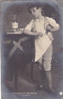 """29.PONT L'EVEQUE (DE). CARTE FANTAISIE. CPA. SÉRIE COMPLÈTE DE 5 CARTES.."""" MIEUX VAUT SAVOIR LIRE """". .ANNEE 1904 + TEXTE - Scene & Paesaggi"""