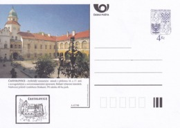 Czech Republic 1998 Postal Stationery Card: Architecture Castle Lion Eagle; CASTOLOVICE A67/98; - Architektur