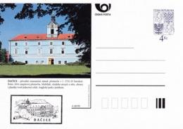 Czech Republic 1998 Postal Stationery Card: Architecture Castle Lion Eagle; DACICE A68/98; - Architektur