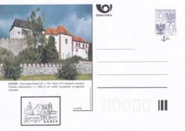 Czech Republic 1998 Postal Stationery Card: Architecture Castle Lion Eagle; KAMEN A69/98; - Architektur