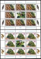 YUGOSLAVIA 1997 European Nature Protection Year. Insect Tree. 2 MINI-SHEETS, MNH - Europäischer Gedanke
