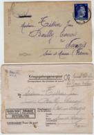 TB 2710 - MILITARIA - Lettre Pour Prisonnier De Guerre Soldat J. TISSIER Stalag XII A Pour BAILLY - CARROIS Par NANGIS - WW II