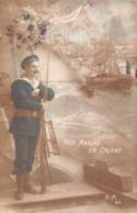 Carte CPA Patriotique - Nos Marins En Orient - Marin Marine - 1916 - Militaria - Patriottisch