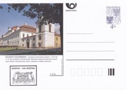 Czech Republic 1998 Postal Stationery Card: Architecture Castle Lion Eagle; RYCHNOV NAD KNEZNOU A76/98; - Architektur