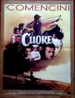 Aff Orig Ciné CUORE 40X60cm Luigi Comencini Bernard Blier 1984 - Plakate & Poster