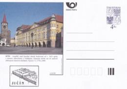 Czech Republic 1999 Postal Stationery Card: Architecture Castle Lion Eagle; JICIN A83/99; - Architektur