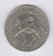 GREAT BRITAIN 1977: 25 New Pence, KM 920 - 1971-… : Monedas Decimales