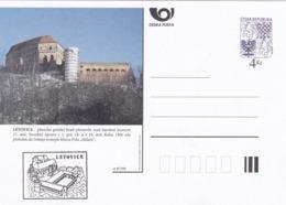 Czech Republic 1999 Postal Stationery Card: Architecture Castle Lion Eagle; LETOVICE A87/99; - Architektur