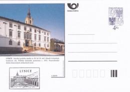 Czech Republic 1999 Postal Stationery Card: Architecture Castle Lion Eagle; LYSICE A88/99; - Architektur