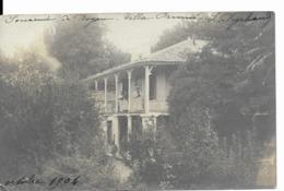 17 ROYAN  Villa   Carte Photo Rare De 1904 - Royan