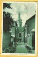 1936 CHAUNY - Vue Peu Courante RUE Du PETIT GREFFIER - Chauny