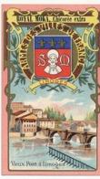 LIMOGES - Chromo Pub ROYAL MOKA - Bourgeois & Labre, Cambrai Proville (Nord) Armes Des Villes De France - Tea & Coffee Manufacturers