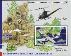 FRENCH ANTARCTIC TERRITORIES TAAF FSAT 2018 The Forgotten Aerodrome Of Kerguelen Helicopters Transport MNH - Hubschrauber