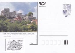 Czech Republic 1999 Postal Stationery Card: Architecture Castle Lion Eagle; PRAHA: RABI A93/99; - Architektur