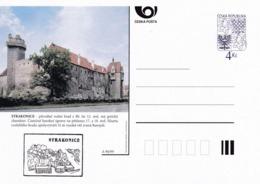 Czech Republic 1999 Postal Stationery Card: Architecture Castle Lion Eagle; PRAHA: STRAKONICE A94/99; - Architektur