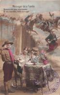 Carte CPA Patriotique - Messager De La Famille - Enfant Soldat Scout - Casteljaloux - 1915 - Patriottisch