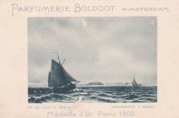 193717Parfumerie Boldoot Amsterdam (op De Kust V. Zeeland) Heemskerck V. Beest (kleine Beschadigingen  Kaartje) - Reclame