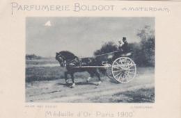 193719Parfumerie Boldoot Amsterdam (Naar Het Feest (O. Eerelman) (links Boven Een Beschadiging) - Reclame