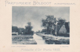 193721Parfumerie Boldoot Amsterdam (Dorp Landschap) (v. Bauffe) - Reclame
