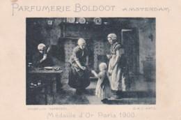193766Parfumerie Boldoot Amsterdam (Huiselijk Tafereel) (D.A.C. Artz) (klein Vlekje Links Boven) - Reclame