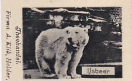 193785Theehandel. Firma A. Klik, HelderNr. 64 Ijsbeer - Reclame