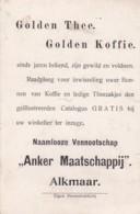 1937100Golden Thee. Golden Koffie. ,,Anker Maatschappij  Alkmaar (Eigen Stoomdrukkerij)         Zigeuners - Reclame