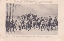 1937109 Boon's Cacao, Wormerveer. Ao. 1608. Ontmoeting Van Prins Maurits En Spinola. - Chocolade