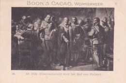 1937111Boon's Cacao, Wormerveer. Ao. 1619. Oldenbarneveld Voor Het Hof Van Holland. - Chocolade