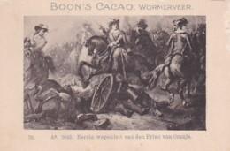 1937116Boon's Cacao, Wormerveer. Ao. 1643. Eerste Wapenfeit Van Den Prins Van Oranje. - Chocolade