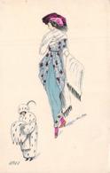 CPA  Illustrateur Xavier . Sager 1911 (femmes ) - Sager, Xavier