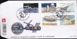 BELGIUM COB 3916/3920  FDC - FDC