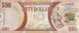 GUYANE 50 DOLLARS 2016 UNC P 41 - Guyana