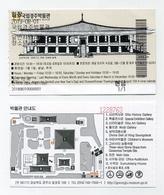 Ticket D'entrée National Museum Of Gyeongju, Corée Du Sud. 2019 - Tickets - Entradas