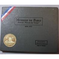 Coffret 1973, Fleurs De Coins Dont La 10 Francs Hercule - Frankrijk