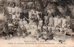 910Mm  83 Plan D'Aups Ste Beaume Colonie Bethléem De Ste Germaine Dans Les Bois - Aups