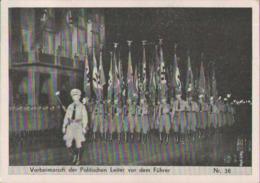 Nürnberg, Reichsparteitage, NSDAP, Politische Führer, Propaganda-Postkarte, Drittes Reich, Militär - Weltkrieg 1939-45