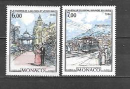 1986 - N. 1543/44** (CATALOGO UNIFICATO) - Monaco