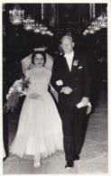 AK Foto Brautpaar Hochzeit  (45136) - Hochzeiten