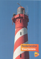 Nederland - PostNL- Reclamefolder - Nederlandse Vuurtorens - Westerlichttoren Nieuw-Haamstede - 2014 - Propaganda