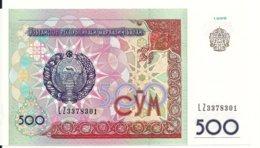 OUZBEKISTAN 500 SUM 1999 UNC P 81 - Ouzbékistan