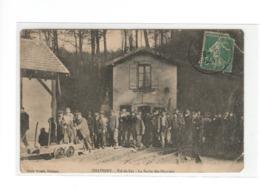 CHAVIGNY (54) - Val De Fer - La Sortie Des Ouvriers (mine) - Sonstige Gemeinden