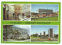 Z02 - Germany - Plauen - Oberer Bahnhof - Railways Station - Stazioni Senza Treni