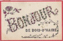 BOIS D' HAINE - 1907 - Bonjour De Bois-d' Haine - La Croyere - La Louvière