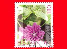 SVIZZERA - HELVETIA - Usato - 2003 - Piante Medicinali - (Malva Sylvestris) - 180 - Svizzera