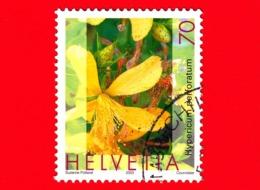 SVIZZERA - HELVETIA - Usato - 2003 - Piante Medicinali - (Hypericum Perforatum) - 70 - Svizzera